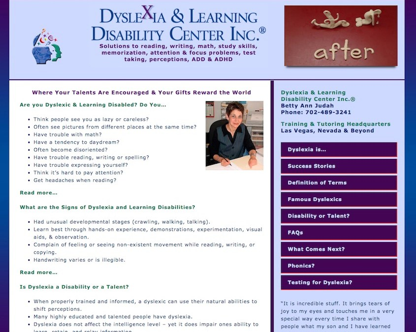 Dyslexia & Learning Disability Center