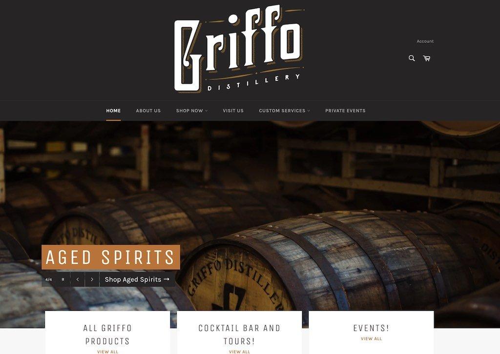 Griffo Distillery Website