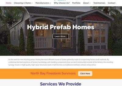 Hybrid Prefab Homes