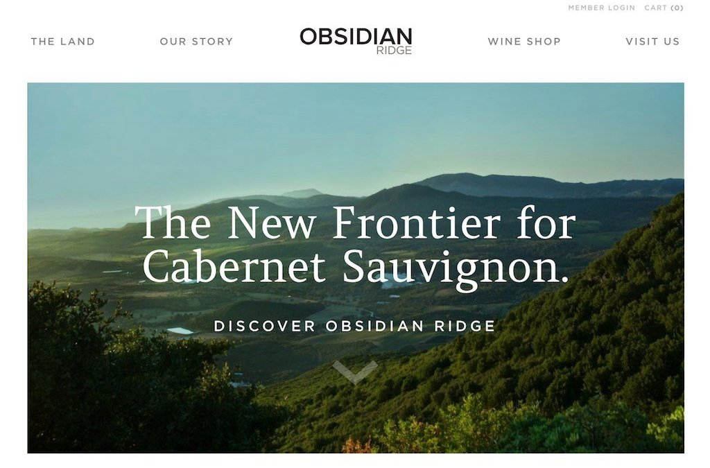 Obsidian Ridge Winery & Poseidon Vineyard