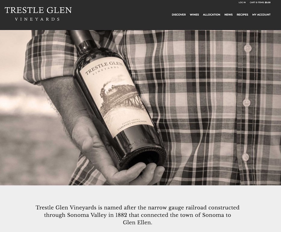 Trestle Glen Website