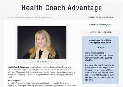 Health Coach Advantage