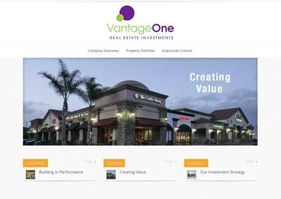 VantageOne Real Estate Investments