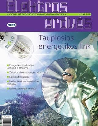 Žurnalas Elektros Erdvės Nr. 31 2013