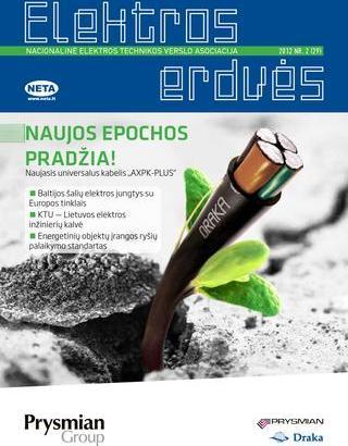 Žurnalas Elektros Erdvės Nr. 29 2012
