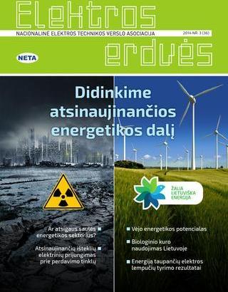 Žurnalas Elektros Erdvės Nr. 36 2014