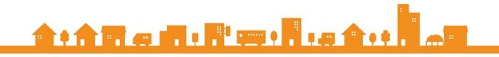 街並み(オレンジ)