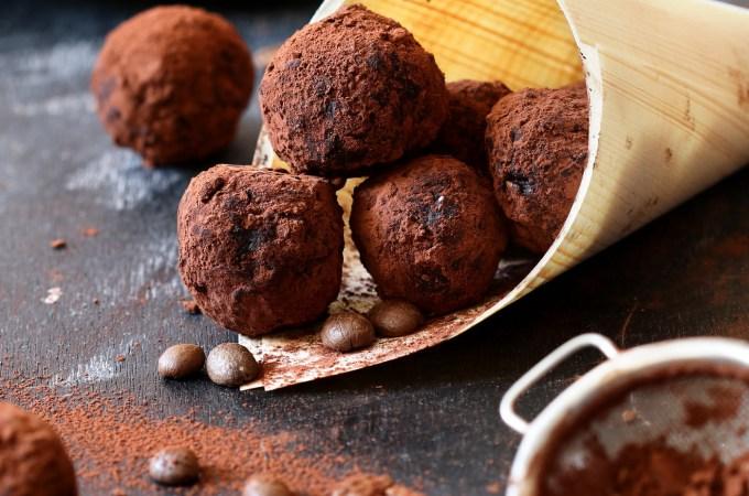 Chocolate coffee energy Balls