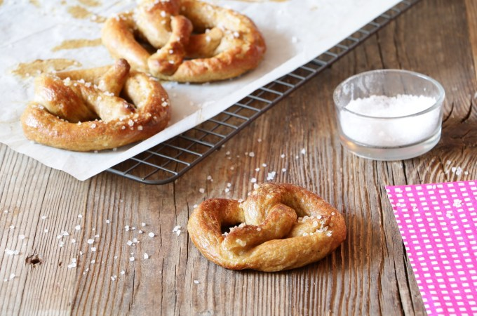 Homemade Soft Pretzel