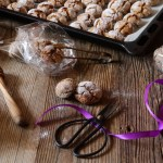 Healthy Rye Flour Honey Cookies and A DIY Gift Idea