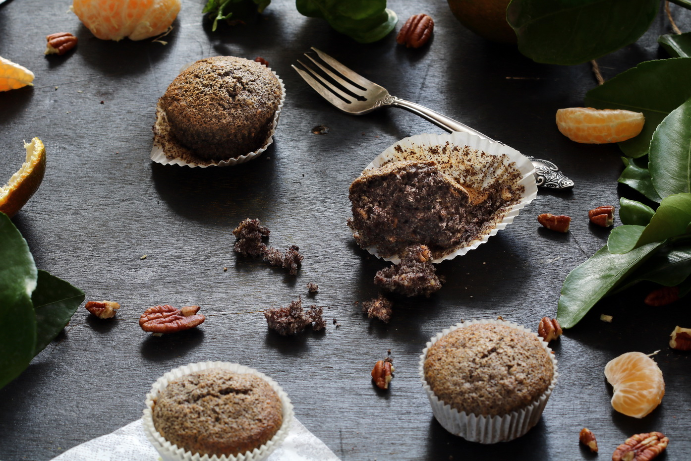 Poppy Seed Orange Muffins Recipe
