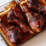 Honey Glaze Turkey Legs a thanksgiving treat