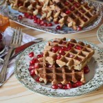 Quick and easy dairy free waffle recipe