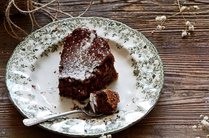 Gluten free flourless chocolate cake recipe