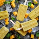 3-Ingredients Mango Banana Popsicles