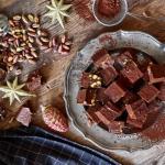 Vegan Chocolate Peanut Butter Pistachio Truffles