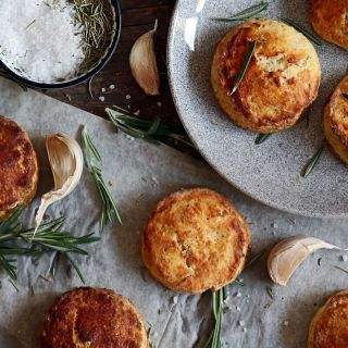 Rosemary Garlic Biscuits