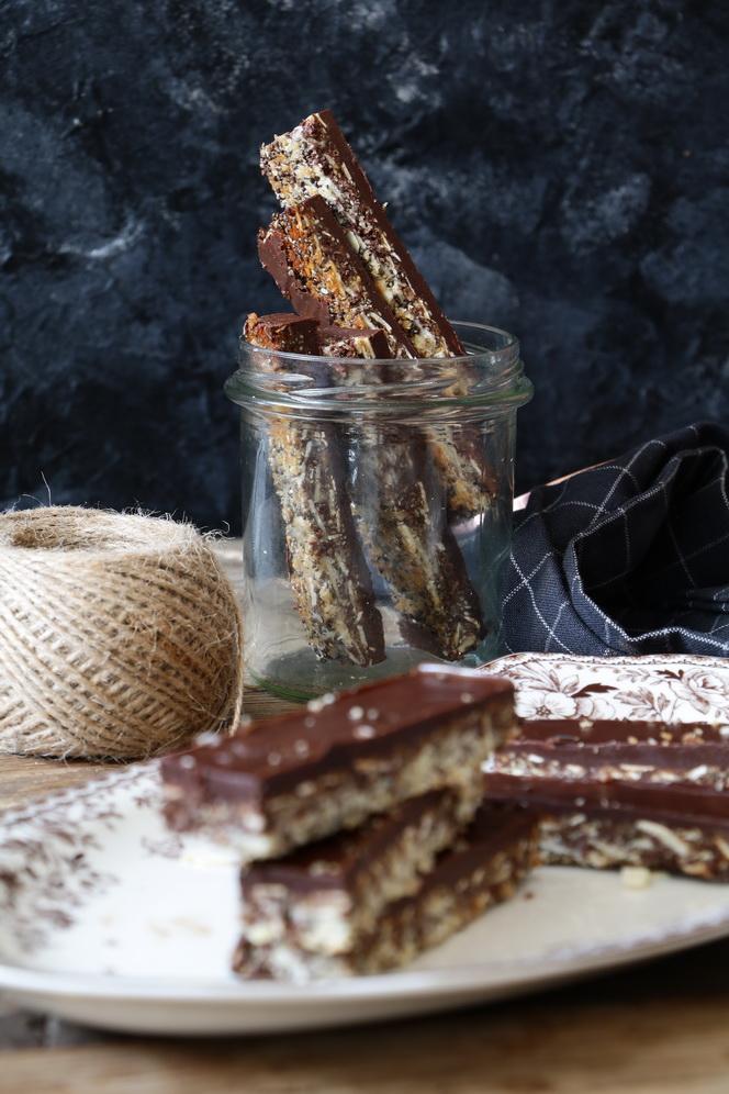 Vegan Almond Coconut Bars