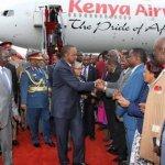 Kenya: Retour en liesse d'Uhuru Kenyatta de la CPI