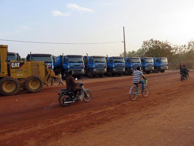 A Barikoara, première étape du lancement du chantier Barikoara-Kerou-Pehunko-Djougou …