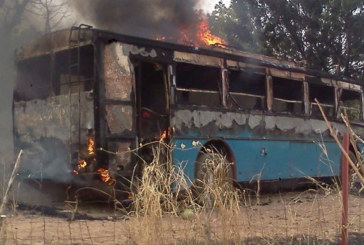 Barma : Un car transportant 47 pasteurs prend feu en pleine circulation