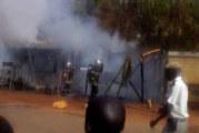 Quartier Tanghin de Ouagadougou :un incendie ravage 5 magasins !