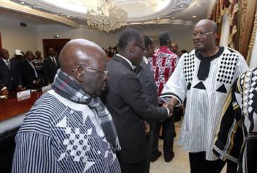 Prise de contact du nouveau gouvernement avec le Président du Faso : l'exécutif affiche complet