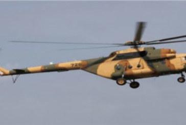 CAISSES DE GRENADES ET MALETTE (D'ARGENT) RECUPEREES A LA FRONTIERE : Sur les traces de l'hélicoptère MI 17