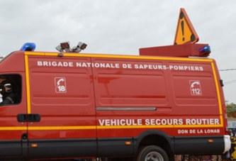 Banfora : un véhicule des sapeurs pompiers fait un accident