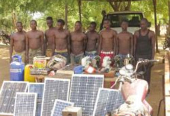 9 présumés voleurs arrêtés à Batié
