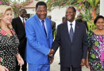 Yayi Boni rencontre Ouattara