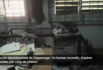 Lycée départemental de Séguenega: Un bureau incendié, d'autres sauvés par coup de chance