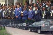 CHAN : Kabila offre des 4x4 haut de gamme aux champions d'Afrique
