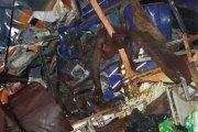 Ghana : au moins 53 morts dans un accident entre un bus et un camion (Images)