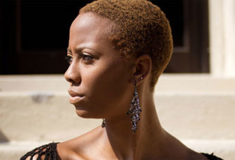 Ebony fille lesbiennes ghetto butin ébène