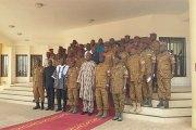 Burkina : Le président Roch Kaboré rencontre la hiérarchie militaire pour les féliciter
