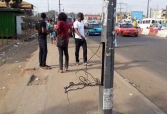 Côte d'Ivoire: Les poteaux de la mort des rues d'Abidjan