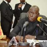 FLASH INFOS 1re session ordinaire du Parlement : « Nous ne sommes pas une majorité gloutonne » (Salifou Diallo, président de l'Assemblée nationale)