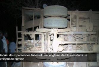 Gaoua: deux personnes tuées et une vingtaine de blessés dans un accident de camion