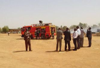 Ouagadougou: Le dépôt de l'Onatel de Cissin parti en flammes
