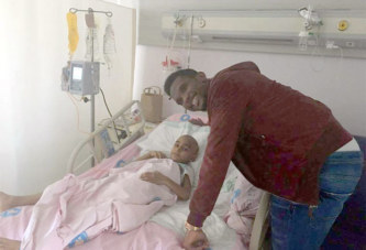 Samuel Eto réalise le rêve du petit Haldun