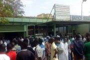 Hôpital Yalgado: le Syntsha en sit-in, le DG s'explique