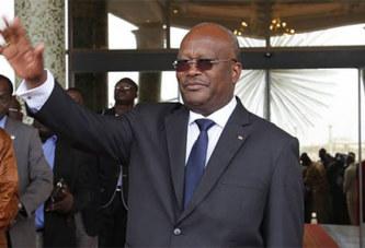 Visite officielle de Roch Kaboré à Paris en avril prochain