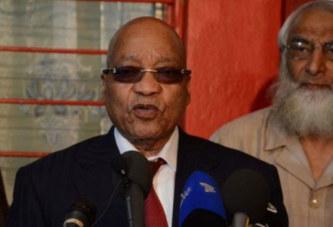 Afrique du Sud: Jacob Zuma échappe à une nouvelle motion de défiance