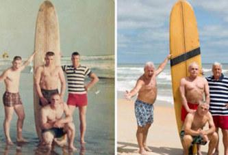 Quatre vétérans se retrouvent, 50 ans plus tard