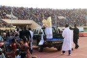 Plus de 35000 supporters pour Jésus au stade du 4 Août
