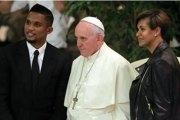 Le couple Eto'o se mariera devant le pape François