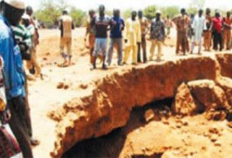 Séguénega : 8 personnes portées disparues dans l'effondrement d'un site minier à ciel ouvert