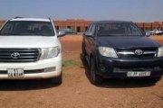 Affaire 57 véhicules de la présidence : Voici les véhicules retournés à la CRS
