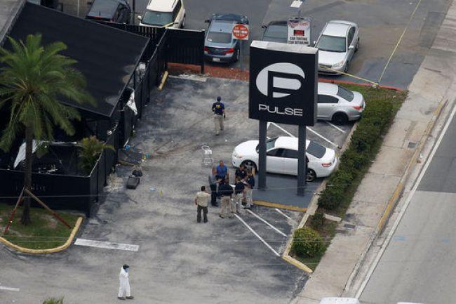 Vue aérienne de la discothèque où a eu lieu une fusillade mortelle samedi soir.